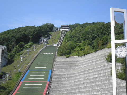d65cf05c s - 札幌観光 ~大倉山ジャンプスキー場~