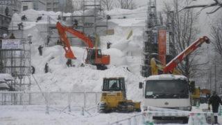 48e88e0a s 320x180 - 札幌雪祭り準備+冬の時計台他