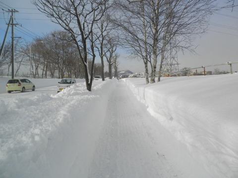 9a0a1c90 s - 北海道の冬の生活08 ~除雪状況/最近の食事~