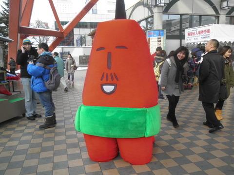 8d2631fe s - 2012年 札幌雪祭り初日