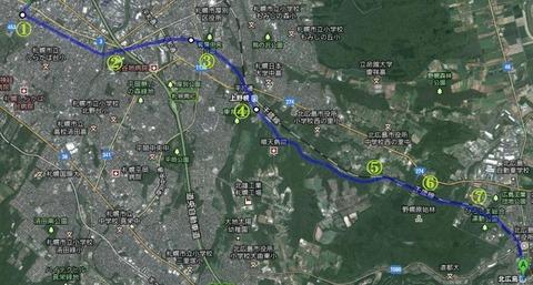 1df8a1cc s - 札幌北広島自転車道路を歩いてみた / 25km徒歩の旅 後編