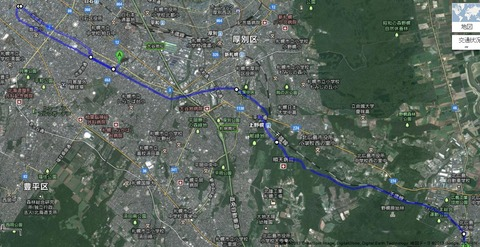 38ee4514 s - 札幌北広島自転車道路を歩いてみた / 25km徒歩の旅 前編
