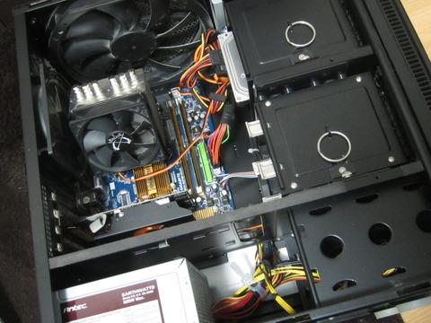 29c3d66e s - パソコンの電源ユニットを交換しました