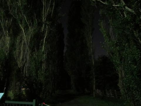 b08a7960 s - 北大の敷地で月食を見てきた
