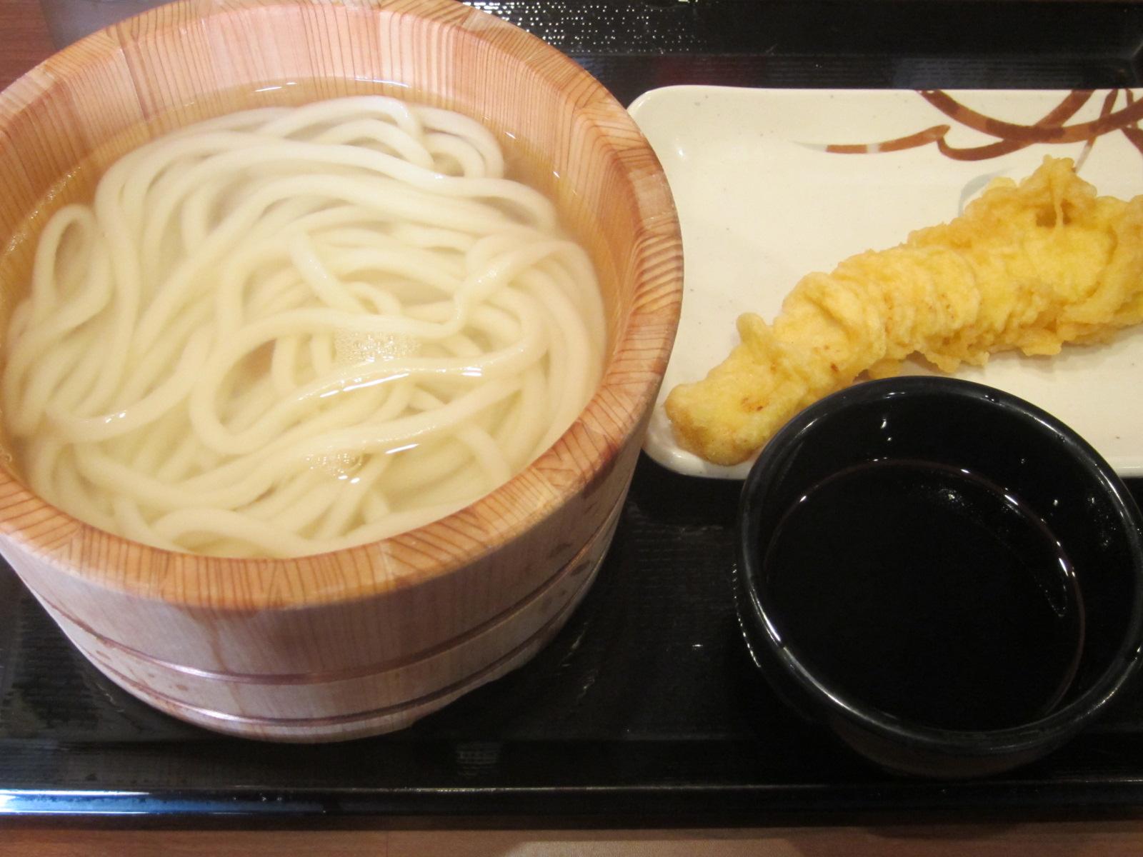 IMG 0002 - 丸亀製麺で釜揚げうどん食べてみた