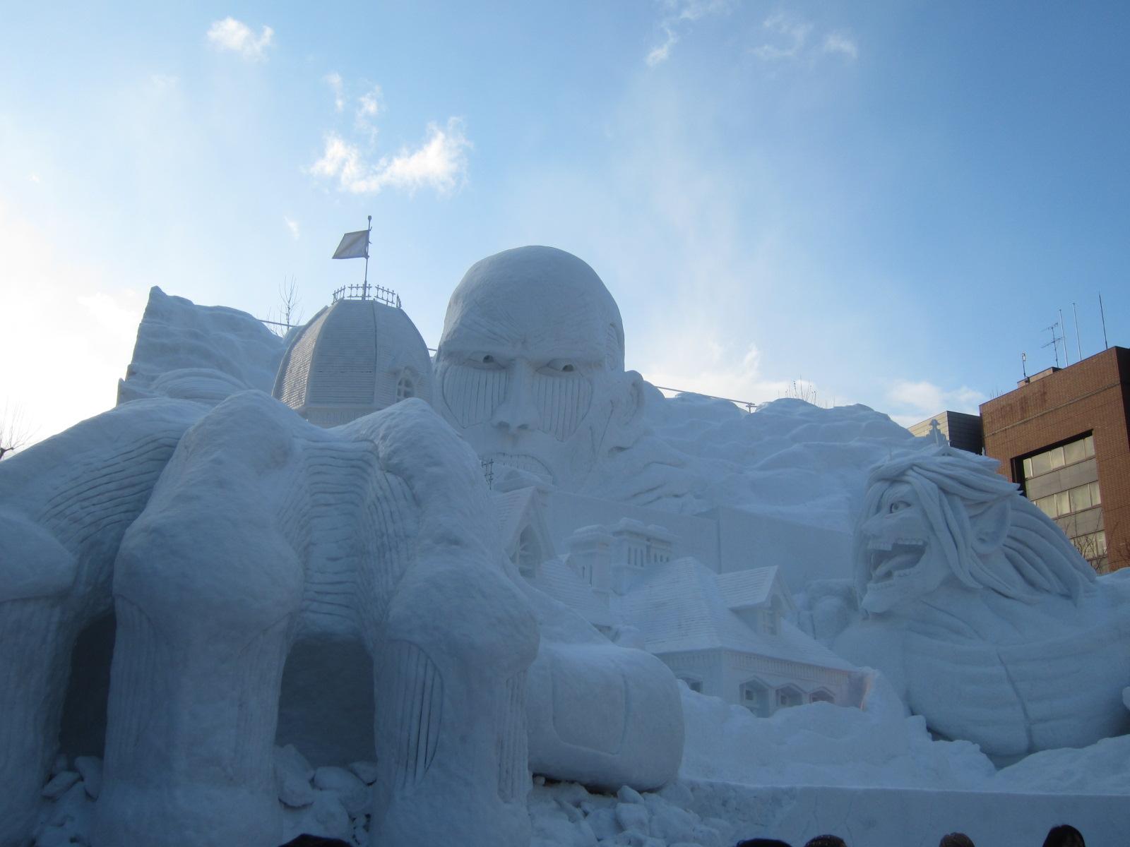 IMG 0021 - 初日から行ってきました、大雪像からご紹介【札幌雪祭り2016Part01】