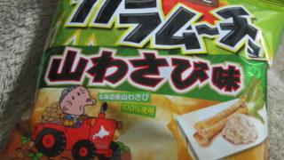IMG 0086 320x180 - カラムーチョの山わさび味を食べてみた