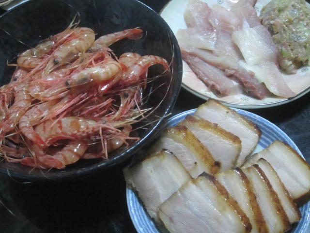IMG 0073 - お刺身用のぼたん海老(古平産)が物凄く美味しかった / デザートは余市の桃