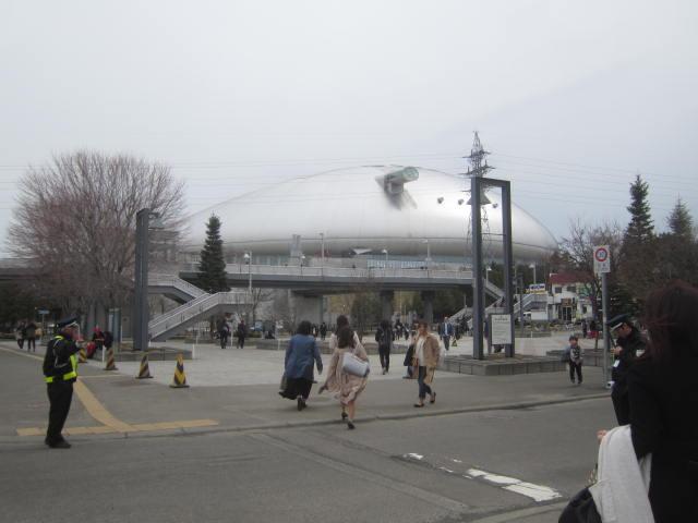 IMG 0037 1 - 札幌ドームへ安室奈美恵のコンサート日に散歩行ってきました