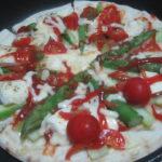 IMG 0052 1 150x150 - アスパラとトマトとカマンベールチーズのピザ