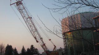IMG 0059 320x180 - ガスタンクの整備作業やってました / 散歩中に見かけた風景