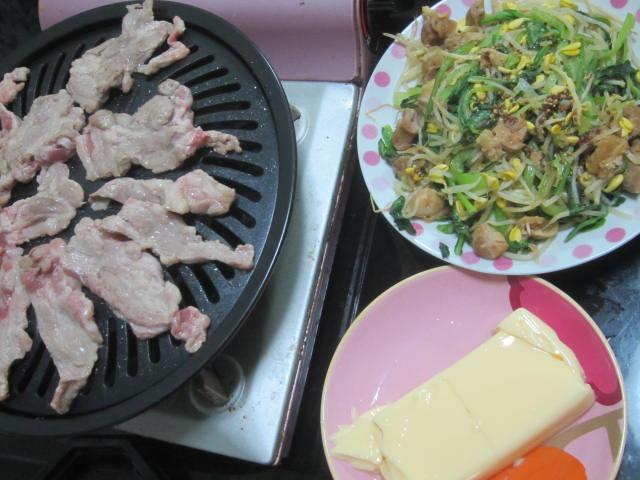 IMG 0022 - 残り物三部作の最後はもう一度ジンギスカン的な焼肉でした