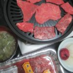 IMG 0007 150x150 - 牛肉の焼肉でトモサンカクという部位を頂きました