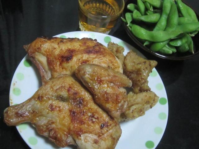 IMG 0042 1 - Chikclin Peckerの美味しそうな鶏肉を枝豆とともに梅酒でもぐもぐ