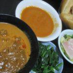 IMG 0048 150x150 - 3種類の袋詰めなカレーを野菜とパンで頂く晩御飯