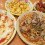 IMG 0049 150x150 - アサリのトマトソースなパスタと水牛モッツァレラなピザ