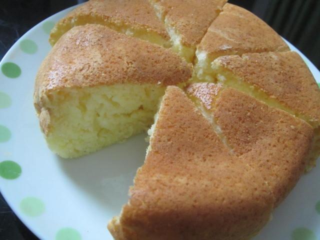 IMG 0055 - ホットケーキミックスで作るシフォンケーキみたいな何か
