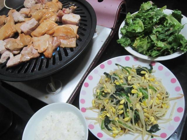 IMG 0056 - 鶏肉で自宅焼肉とかするのって久しぶりな気がします