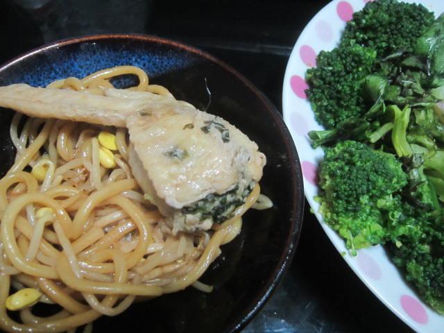 IMG 0062 - 手羽先餃子を自宅で作ってその残り汁で焼き蕎麦にしてみた