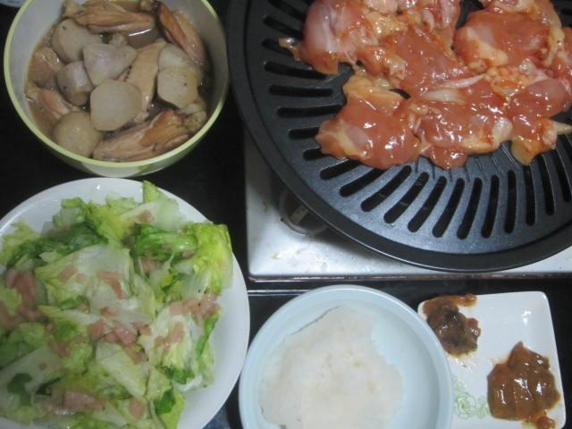 IMG 0002 - ヒレカツサンドを主食にシシャモとトリ肉で乾杯