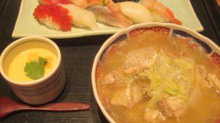 IMG 0057 320x180 - 回らない回転寿司な四季花まるでランチセット食べてみた