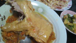IMG 0072 320x180 - カレーに骨付き鶏モモ肉入れてとろっとろになるまで煮込んでみた