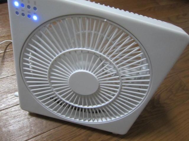 IMG 0082 1 - 今年の夏用に新たに購入したDCモーターなトップランドの扇風機
