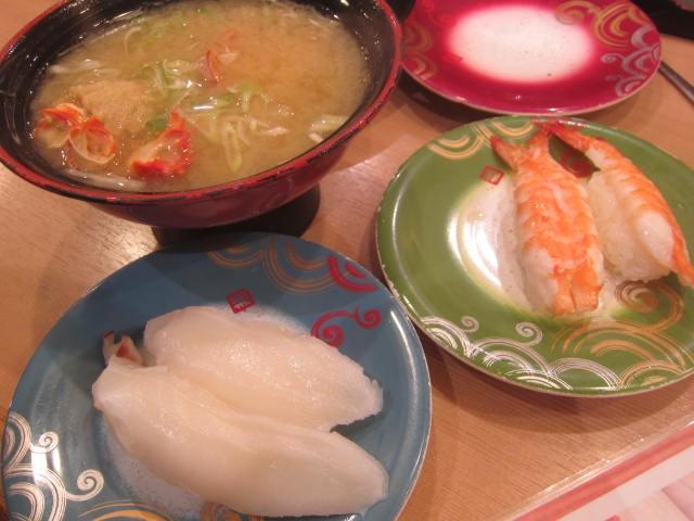 IMG 0085 - 札幌来て初のトリトン(回転寿司)でお昼ご飯してきました