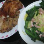 IMG 0093 150x150 - 鶏肉焼いたのとアイスプラントなサラダ