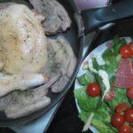IMG 0095 150x150 - 鶏の骨付き腿肉とラムチョップのハーブソルト焼き