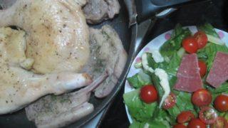 IMG 0095 320x180 - 鶏の骨付き腿肉とラムチョップのハーブソルト焼き