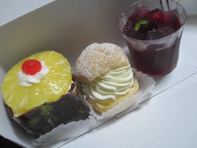 IMG 0098 - シュークリームとハスカップゼリーとハワイアン