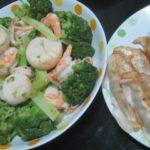 IMG 0005 150x150 - エビホタテブロッコリーな海鮮いっぱいな炒め物と餃子