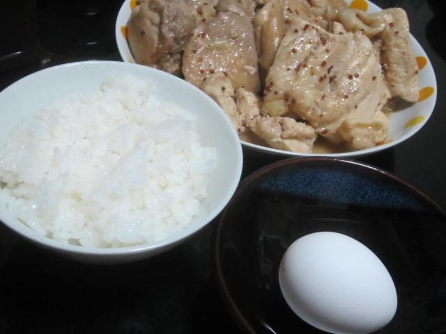 IMG 0015 - たまーに食べる卵かけご飯な質素系の晩御飯