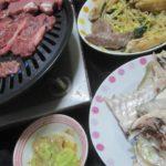 IMG 0045 150x150 - シマアジのアラを塩焼きにしたのとラム焼肉じんぎすかーん