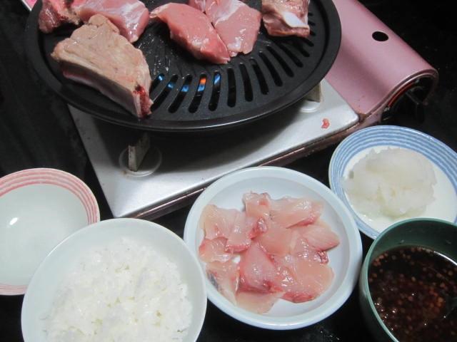 IMG 0047 1 - 台風21号後の北海道地震で電気復旧翌日の晩飯