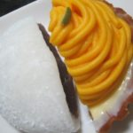 IMG 0130 150x150 - パンプキンなモンブラン的なタルトと大福餅