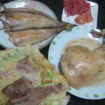IMG 0024 150x150 - カマスの開きと骨付き鶏肉とお好み焼き