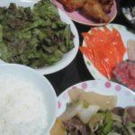 IMG 0032 150x150 - 野菜メインの筈がシマアジとマグロとサーモンに鶏肉と豚タンなタンパク質飯になった
