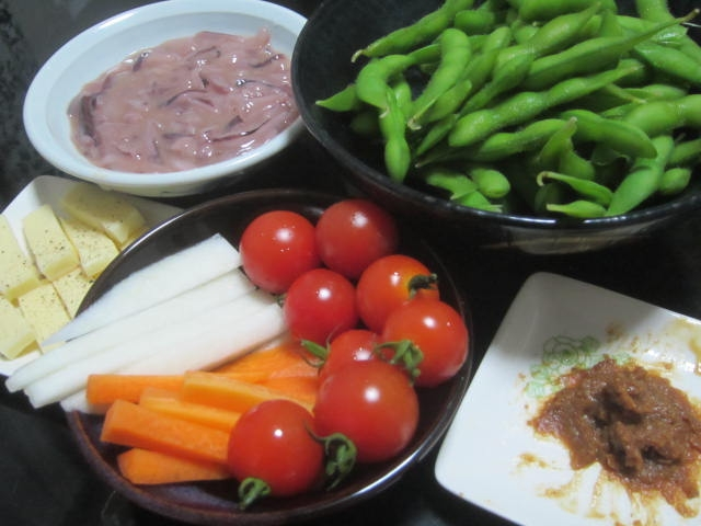 IMG 0039 - ご飯作るの面倒な時の酒盛りスタイルな晩御飯