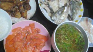 IMG 0048 320x180 - シマアジのアラを塩焼きにしたのがすっげー美味しかった