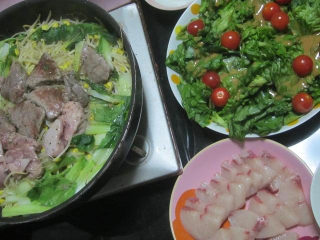 IMG 0057 - 焼肉というより目の前で作る肉野菜炒めみたいになってきた