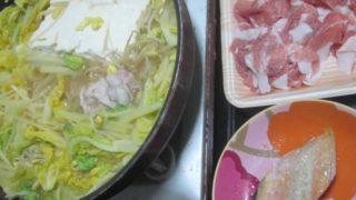 IMG 0060 320x180 - 豆腐と白菜ミッシリで隙間ないですけど豚しゃぶしゃぶ