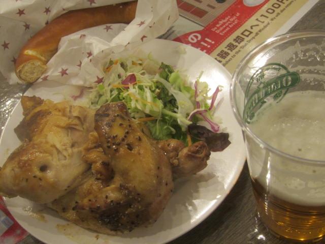 IMG 0078 - ミュンヘン市2018で小樽ビールの店のチキン食べてきました