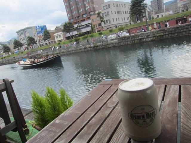 IMG 0174 - 小樽倉庫No.1の小樽ビールな店で無料見学で麦汁飲んでビールも頂いてきた