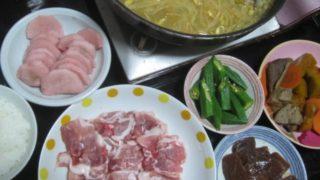 IMG 0220 320x180 - 長芋の梅酢漬けをあんこう鍋の残り汁で火を通した豚しゃぶ肉で巻いてもぐもぐ