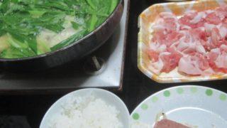 IMG 0011 320x180 - 豚しゃぶ鍋でSPAMのあれこれを中和する感じの晩飯