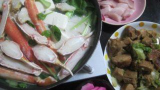 IMG 0013 1 320x180 - 2度目のバルダイ種なズワイガニのカニ鍋と長芋の梅酢漬け