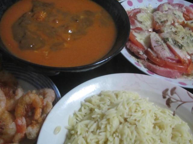IMG 0020 1 - リゾーニという所謂ちねり米でカレー食べてみた
