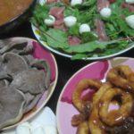 IMG 0031 150x150 - カレーとイカフライとチーズ&生ハムサラダに豚タン